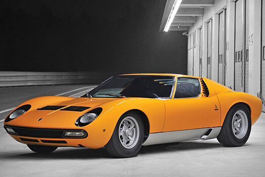 Lamborghini Miura Sv To Star At New York Sale Oracle Finance