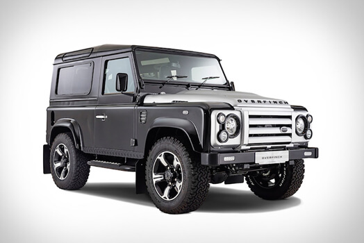 Overfinch Release 40th Anniversary Defender Oracle Finance