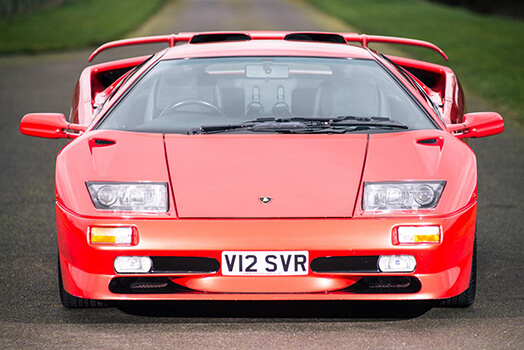Last Ever Lamborghini Diablo Sv Up For Sale Oracle Finance
