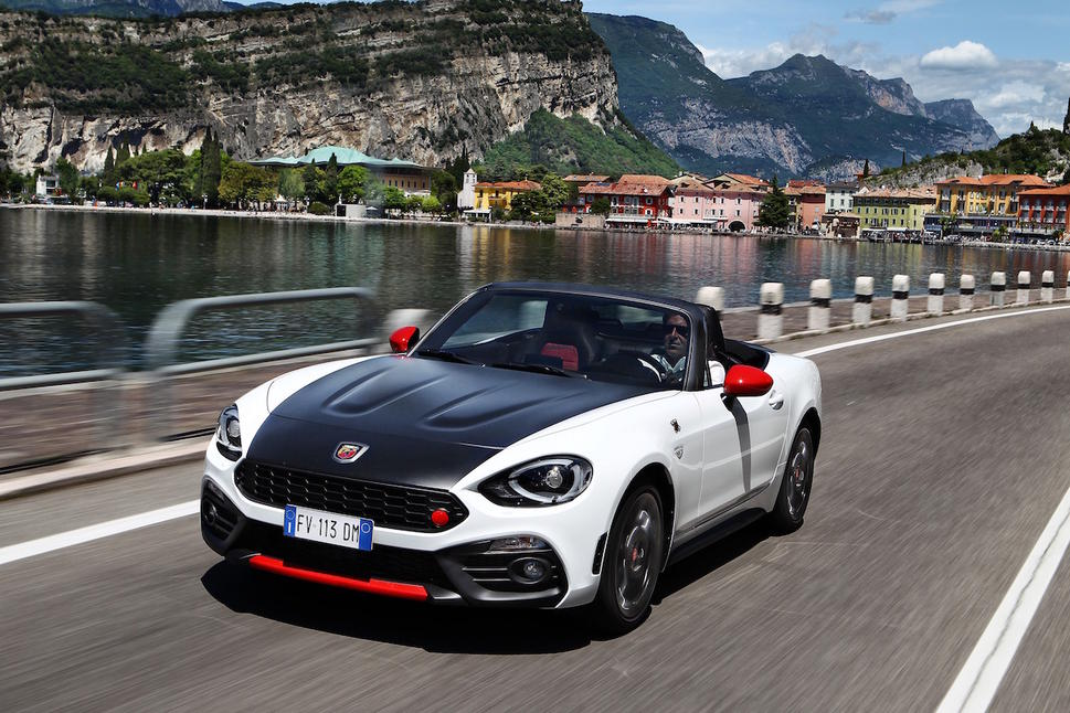 the abarth 124 spider - oracle finance