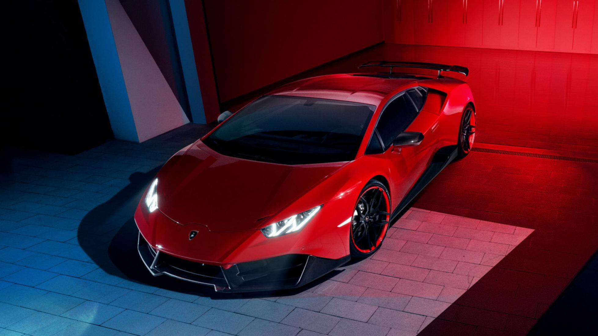 The 819bhp Lamborghini Huracan Oracle Finance