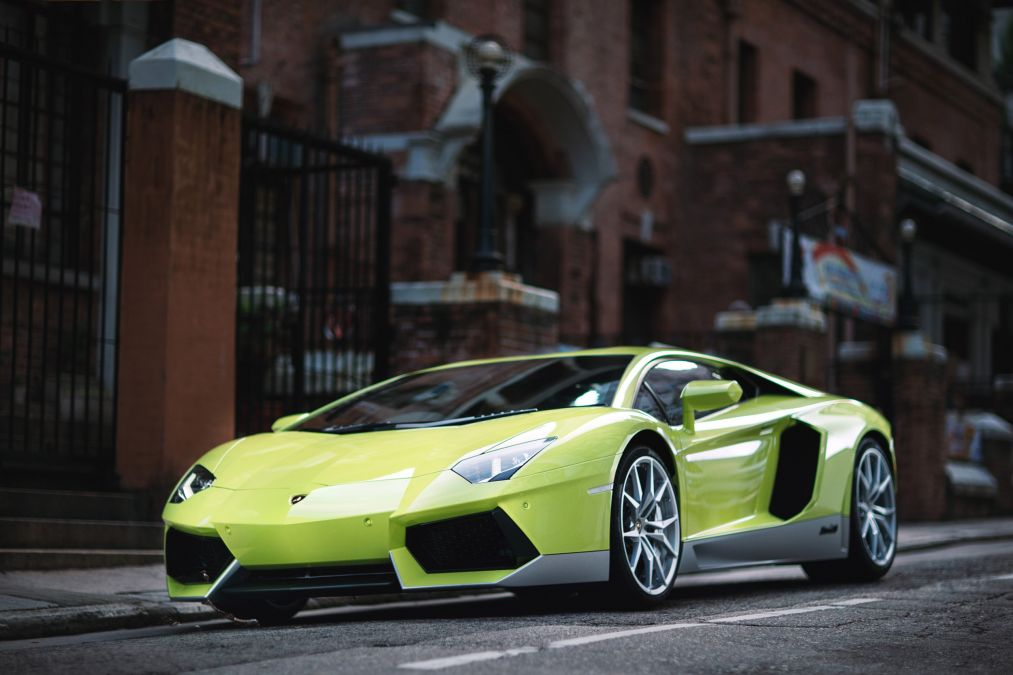 The First Lamborghini Miura Homage Aventador Oracle Finance