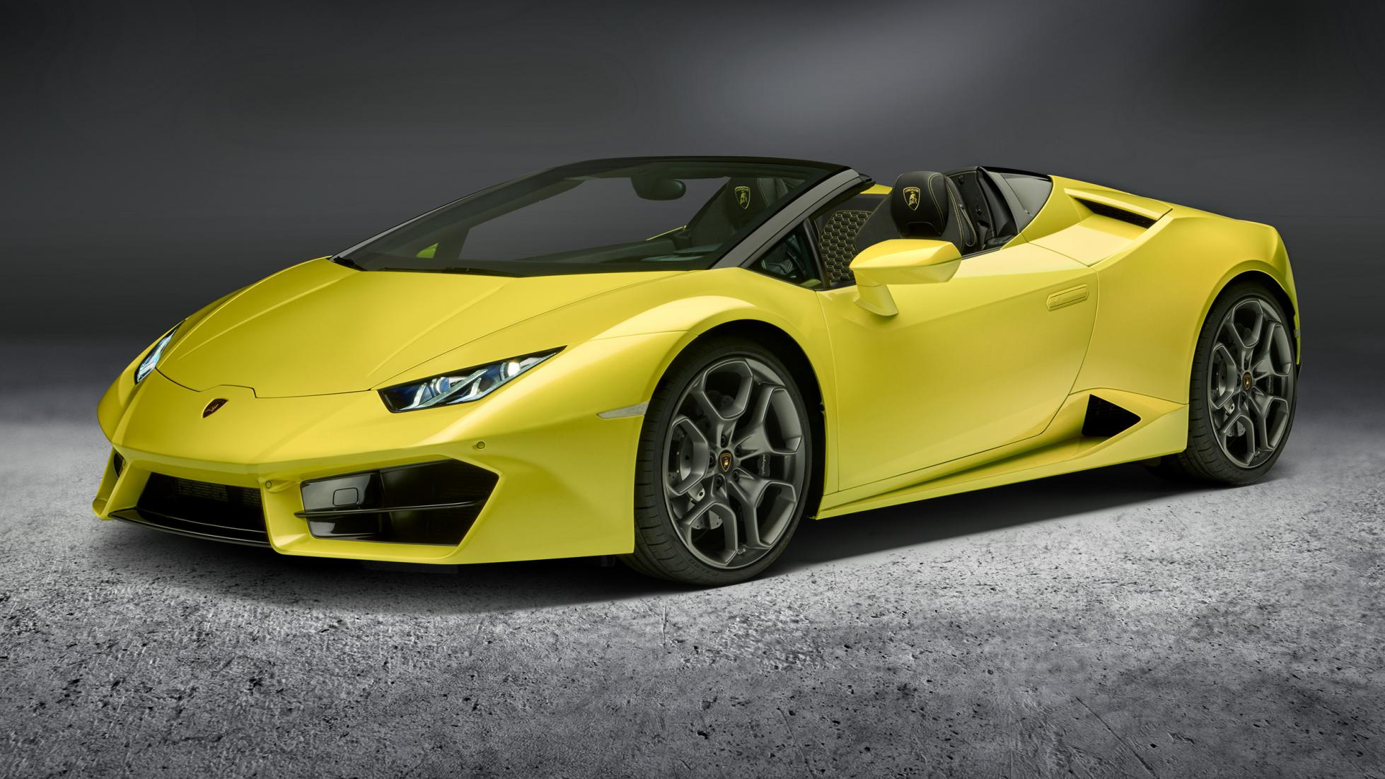 The Rear Wheel Drive Lamborghini Huracan Spyder Oracle Finance