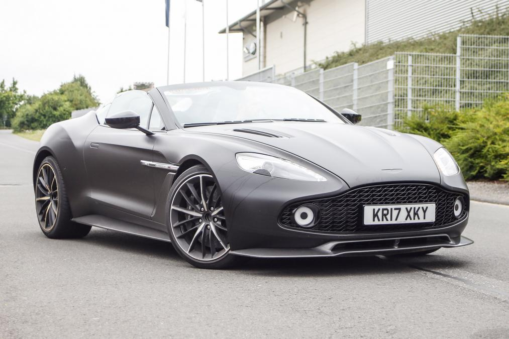 Limited Edition Aston Martin Zagato S Spotted Oracle Finance