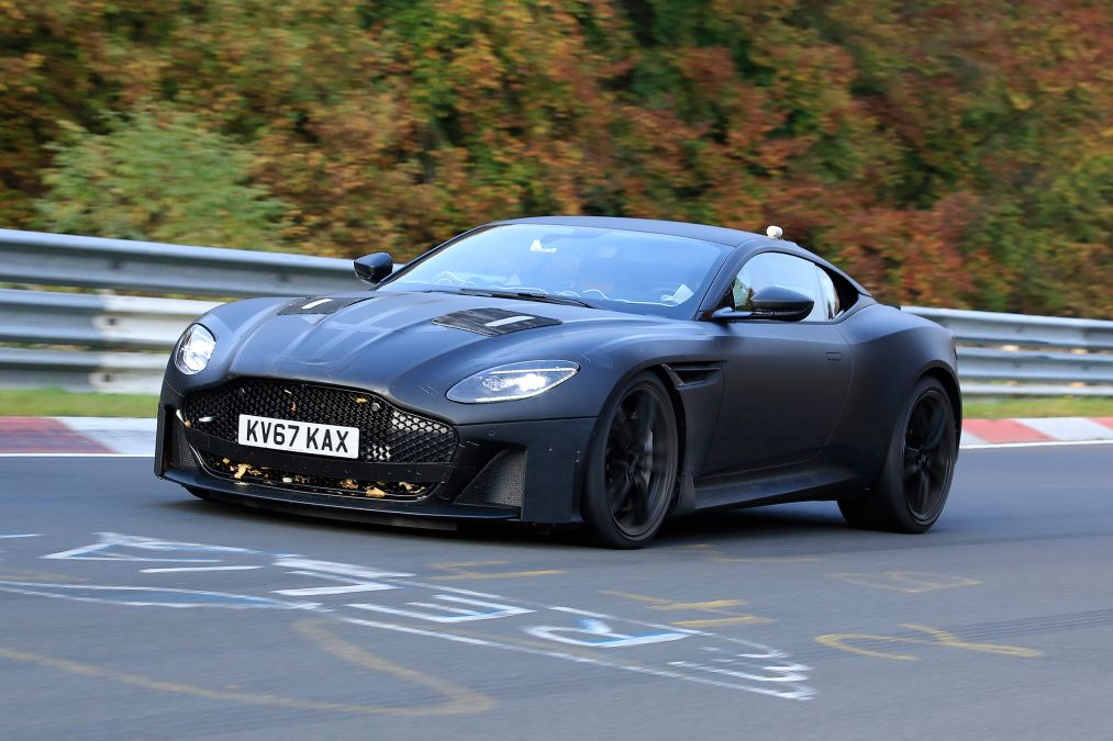 New Aston Martin Vanquish Spotted At The Nurburgring