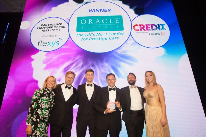 Oracle Finance Crowned 'UK's Best Car Finance Provider'