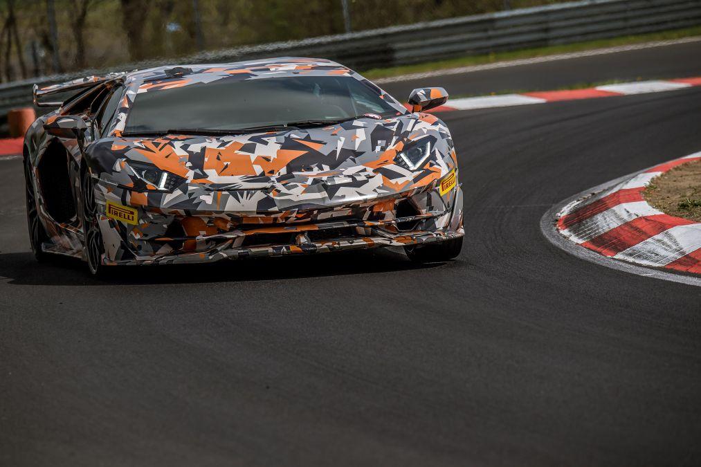 Lamborghini Aventador SVJ posts a blistering 6:44 97 Nurburgring