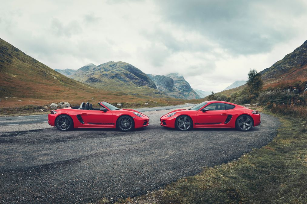 Porsche reveal new 718 Cayman and Boxster T