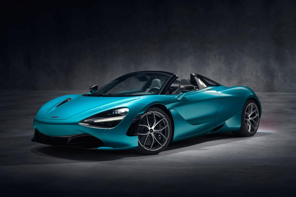 McLaren launch 720S Spider