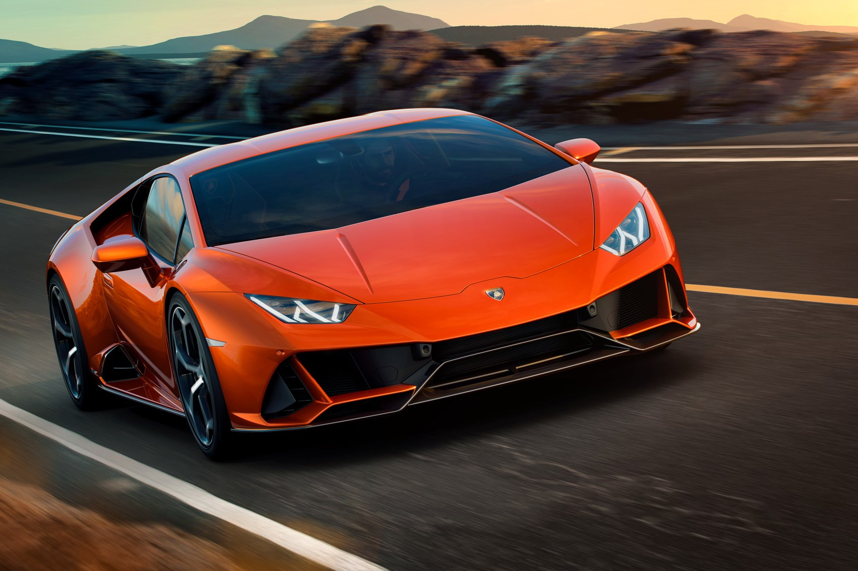 Lamborghini Reveal Huracan Evo Oracle Finance
