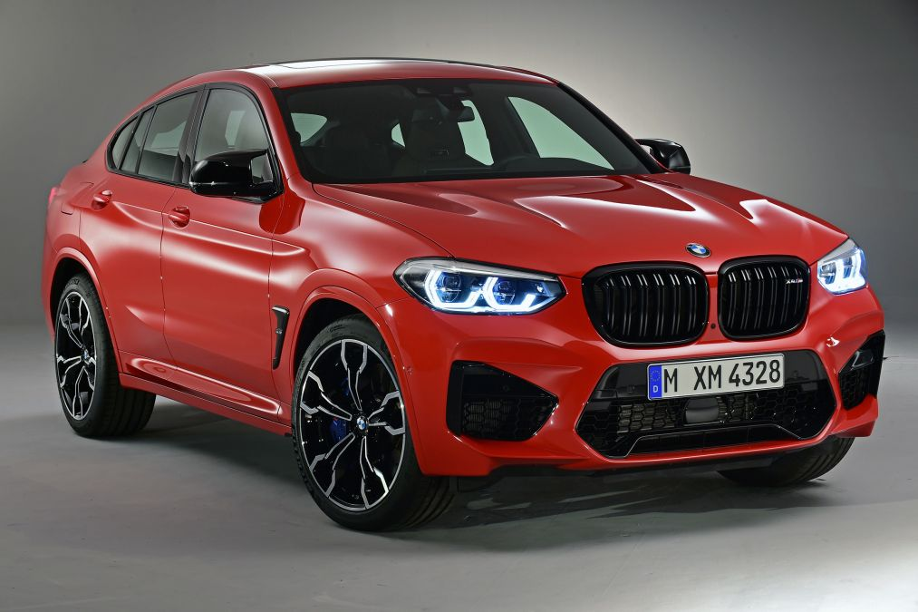 BMW Reveal X3 M and X4 M