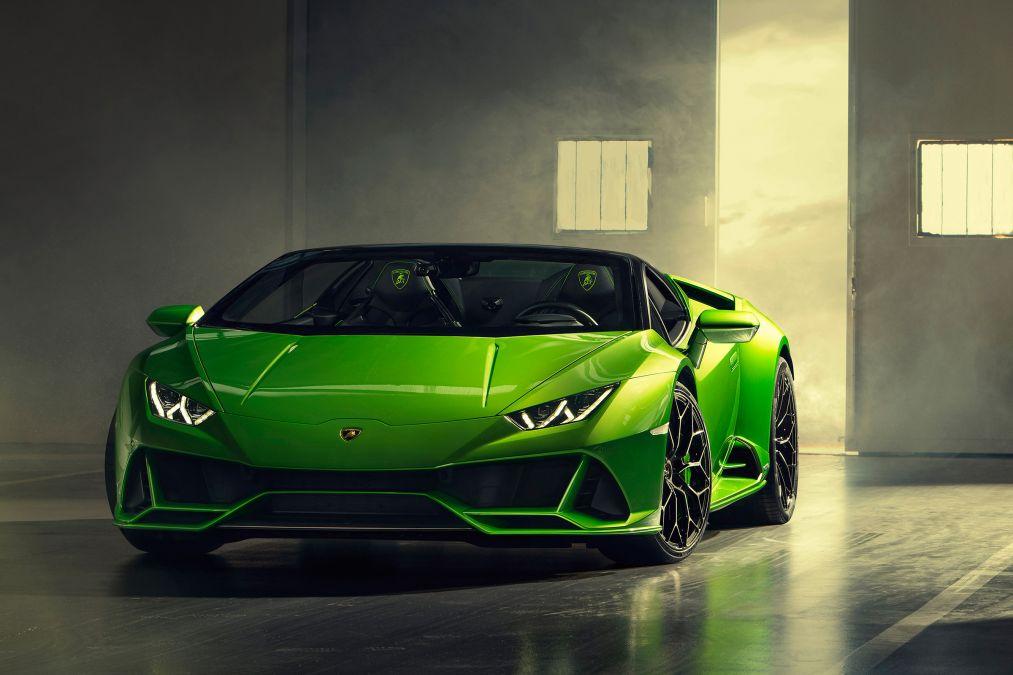 Lamborghini Huracan Evo Spyder Oracle Finance