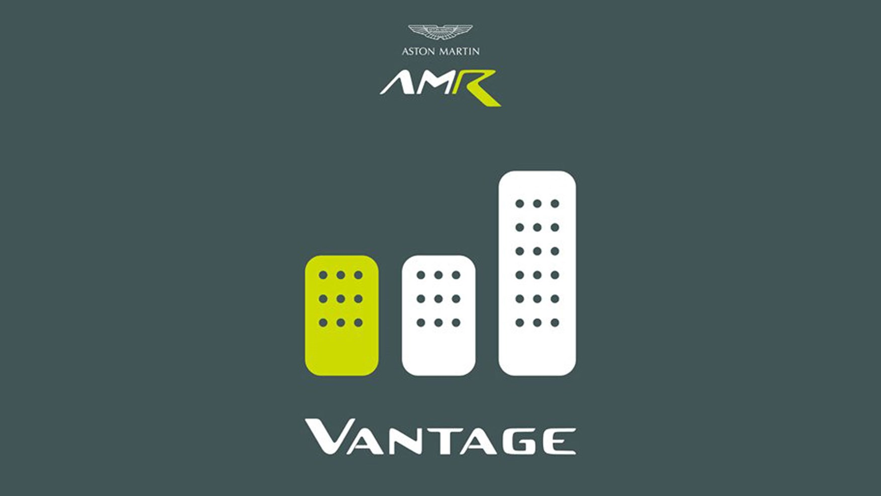 Aston Martin Vantage AMR manual confirmed