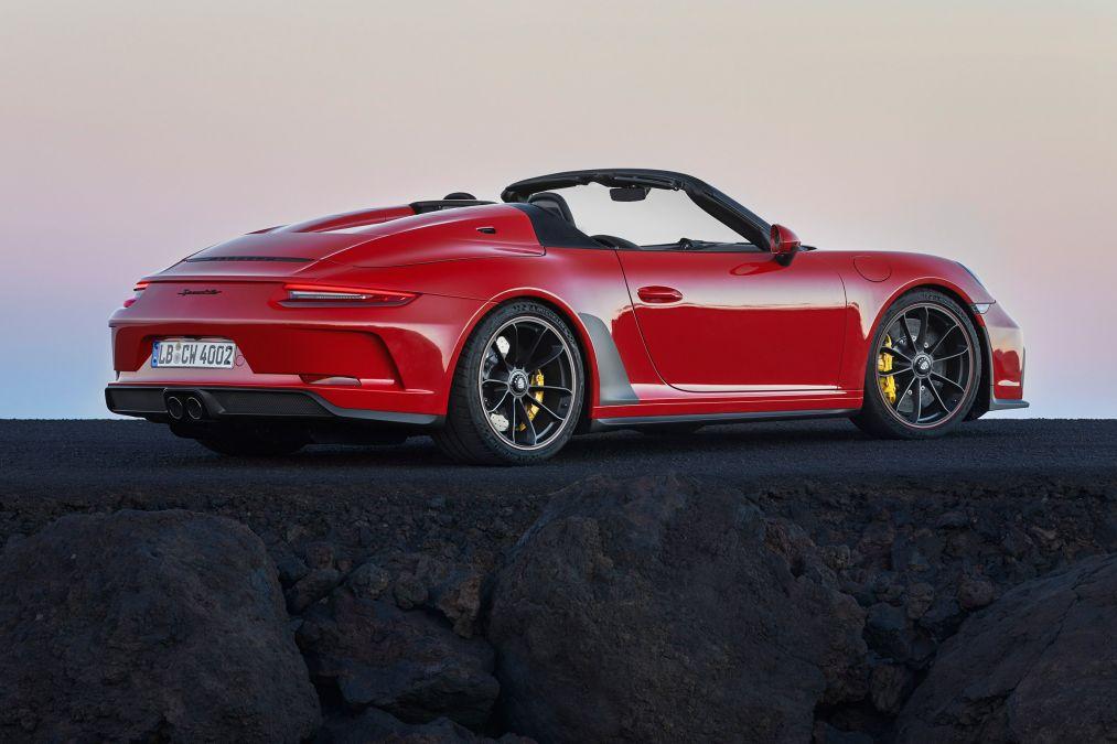 Porsche reveal 911 Speedster pricing