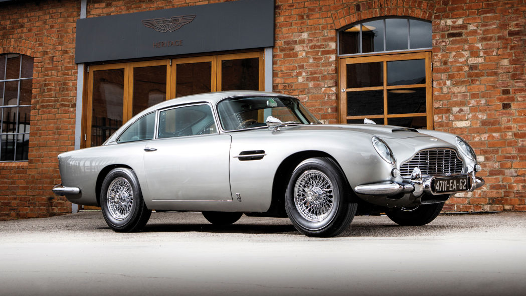 007 Aston Martin DB5 up for auction