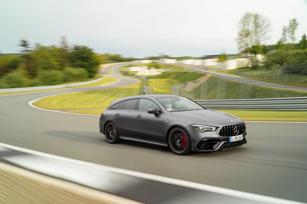 Mercedes-AMG CLA45 S Shooting Brake revealed with powerful 415bhp model