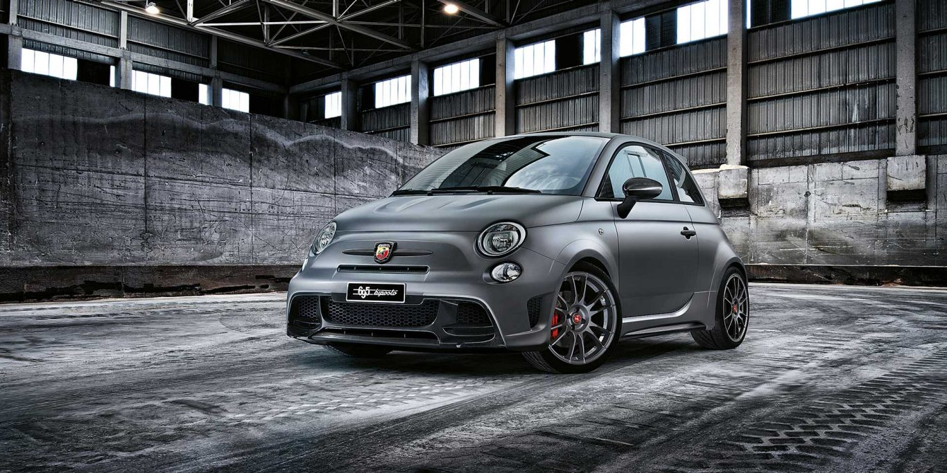 The Ultimate Pocket Rocket. The Abarth 695 Biposto
